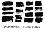 brush strokes. vector... | Shutterstock .eps vector #1325712029