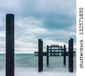 Frame Of West Pier At Brighton...