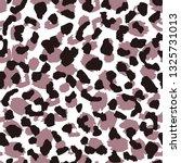 leopard skin seamless pattern.... | Shutterstock .eps vector #1325731013