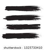 brush stroke set isolated on... | Shutterstock .eps vector #1325733410