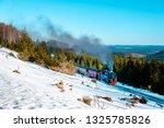 Steam Locomotive In Harz...