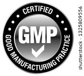 gmp  good manufacturing... | Shutterstock .eps vector #1325809556