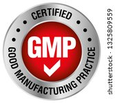 gmp  good manufacturing... | Shutterstock .eps vector #1325809559