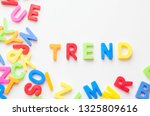 trends concept   text in... | Shutterstock . vector #1325809616