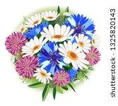 clover. chamomile. daisy.... | Shutterstock .eps vector #1325820143