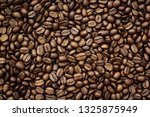 roasted coffee beans   can be... | Shutterstock . vector #1325875949