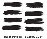 brush stroke set isolated on... | Shutterstock .eps vector #1325882219