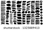 brush strokes bundle. vector... | Shutterstock .eps vector #1325889413