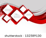 abstract background with red... | Shutterstock .eps vector #132589130