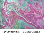 pink and gold marbling pattern. ... | Shutterstock . vector #1325903066