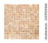 square background wall mosaic...   Shutterstock . vector #1325924366