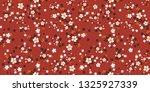 cute seamless floral pattern.... | Shutterstock .eps vector #1325927339