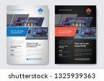 corporate business flyer poster ... | Shutterstock .eps vector #1325939363