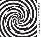 monochrome circular spiral... | Shutterstock .eps vector #1325963459