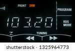 the tuning of radio stations...   Shutterstock . vector #1325964773