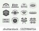 set of vintage carpentry ...   Shutterstock .eps vector #1325986916