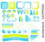 infographics vector elements | Shutterstock .eps vector #132599264