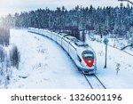 Modern High Speed Train...