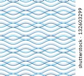abstract wavy seamless pattern  ... | Shutterstock .eps vector #132603299