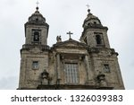 view of facade of convent of... | Shutterstock . vector #1326039383