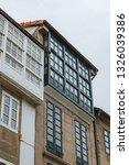 architecture details in... | Shutterstock . vector #1326039386