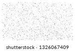 silver polka dot small confetti ... | Shutterstock .eps vector #1326067409