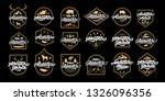 big adventure lettering set... | Shutterstock .eps vector #1326096356