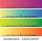 havana multiple color gradient...   Shutterstock .eps vector #1326123419