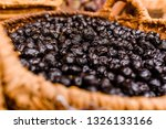 basket with nutritious dried... | Shutterstock . vector #1326133166
