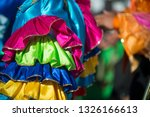 abstract view of samba dancers... | Shutterstock . vector #1326166613