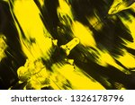 yellow and black abstract... | Shutterstock . vector #1326178796