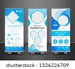 creative roll up banner design  ... | Shutterstock .eps vector #1326226709