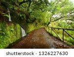 landscape of madeira island  ... | Shutterstock . vector #1326227630