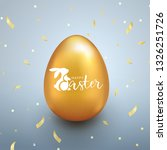 happy easter background with...   Shutterstock .eps vector #1326251726