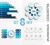 set vector infographic template ... | Shutterstock .eps vector #1326260756