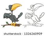 vector illustration of a cute...   Shutterstock .eps vector #1326260909