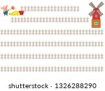 the title frame of the ranch...   Shutterstock .eps vector #1326288290