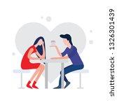 ui illustration of couple...
