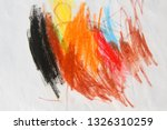 some childish drawn as... | Shutterstock . vector #1326310259