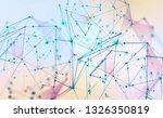 global neural network.... | Shutterstock . vector #1326350819
