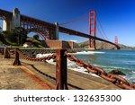 View Of The Golden Gate Bridge...
