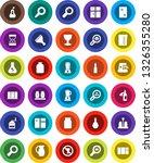 white solid icon set  scraper...   Shutterstock .eps vector #1326355280