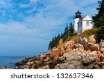 Bass Harbor Lighthouse  With...