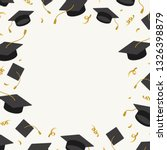 graduation background with... | Shutterstock .eps vector #1326398879