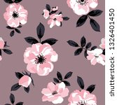 seamless pattern with spring... | Shutterstock .eps vector #1326401450