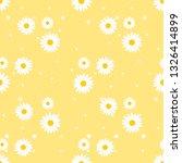 daisy seamless pattern  white... | Shutterstock .eps vector #1326414899