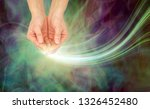 sending out gentle healing... | Shutterstock . vector #1326452480