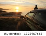 background  sunset in brown...   Shutterstock . vector #1326467663