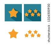 star  5 stars  vector icon....