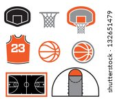 Simple Basketball Vector...